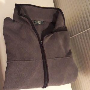Men's Vintage Orvis Grey Full Zip
